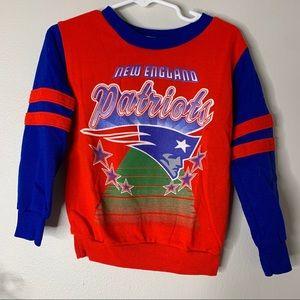 Vintage 90s New England patriots sweatshirt